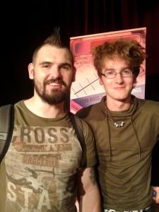 With Gavin Ferris 2013